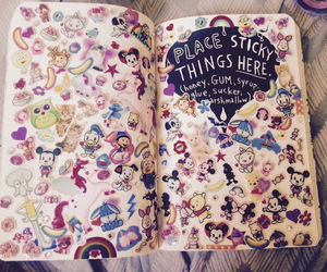 creative, disney, and wreck this journal image