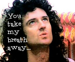 song, queen band, and brian may image