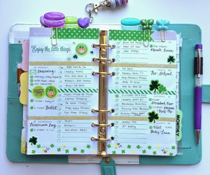 planner, filofax, and organised image