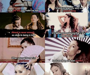 problem, ariana grande, and song image