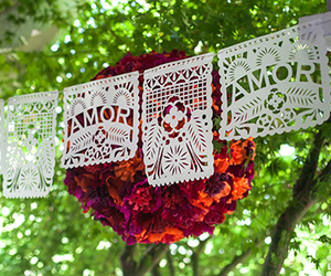 mexican, party, and papel picado image