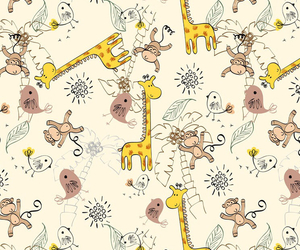 giraffes, wallpaper, and iphone image