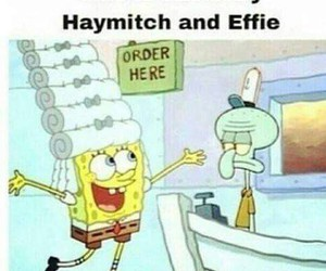 effie, haymitch, and hunger games image