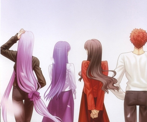 rider, happy ending, and type-moon image