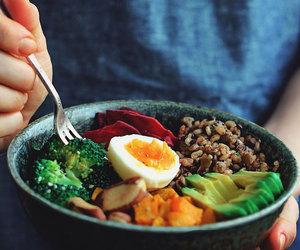 avocado, rice, and sweet potato image