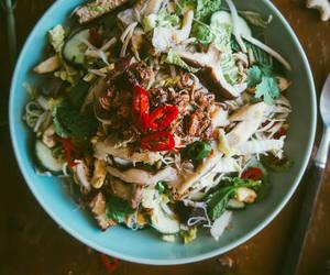 asian and salad image