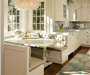 beige, kitchen, and dining room image
