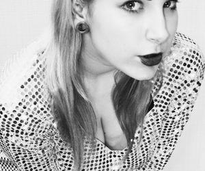 black and white, fashion, and retro image