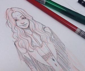 girl, itslopez, and art image