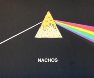 nachos, Pink Floyd, and food image
