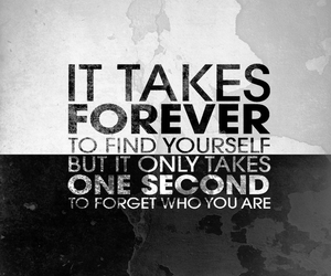 quote, forever, and forget image