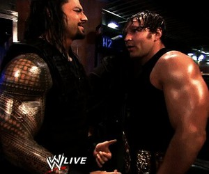 the shield, dean ambrose, and jon moxley image