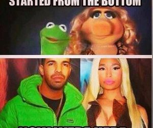 Drake, funny, and nicki minaj image