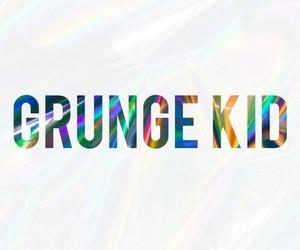 grunge and kid image