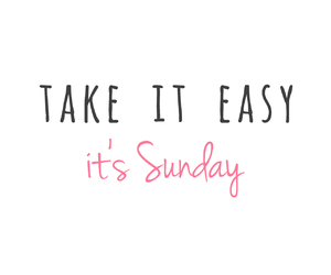 Easy, it, and Sunday image