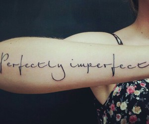 girls, imperfect, and tattoo image