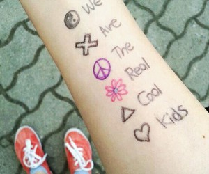 cool, kids, and real image