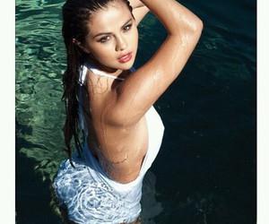 bikini, pool, and fashion image