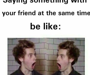 luke hemmings and 5sos image