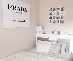 Prada, bedroom, and picture image