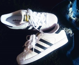 adidas, black&white, and diet image