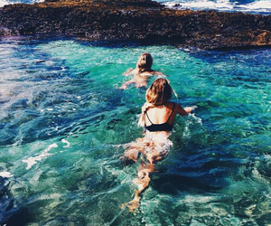 summer, tumblr, and beach image