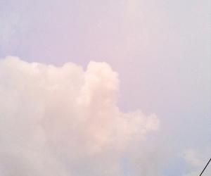 beautiful, clouds, and pale image