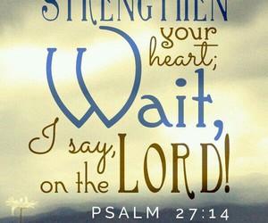 wait and god image