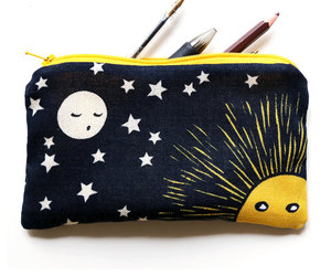 moon, pencil case, and sun image