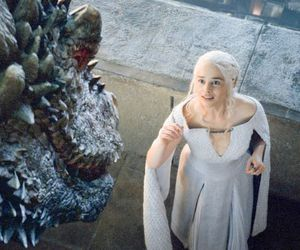 game of thrones, got, and daenerys image