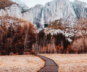 autumn, nature, and mountains image