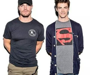 arrow, flash, and grantgustin image