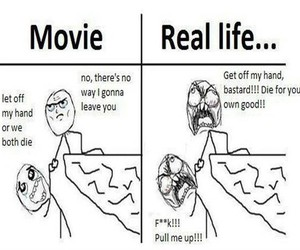 funny, movie, and real life image