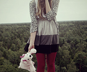 keds, teddy bear, and pink keds image