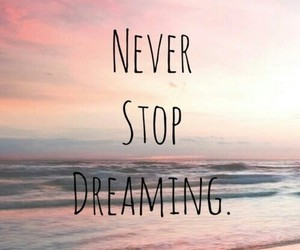 Dream, dreaming, and never image