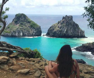 girl, paradise, and summer image