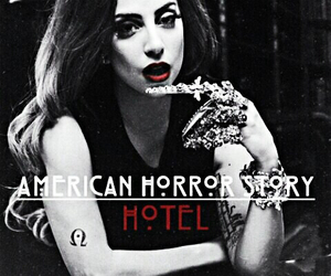 hotel, Lady gaga, and american horror story image