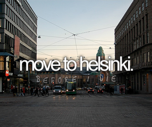 before i die, finland, and helsinki image