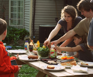 family, food, and indie image
