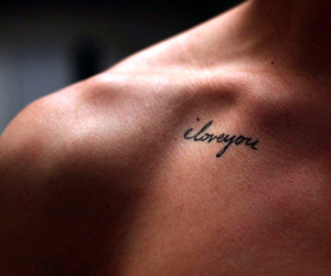 beautiful, collarbone, and tattoo image