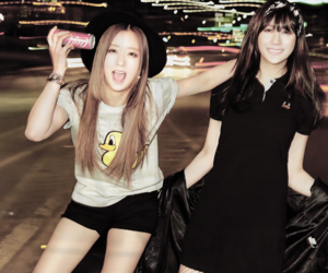 hayoung, bomi, and apink image