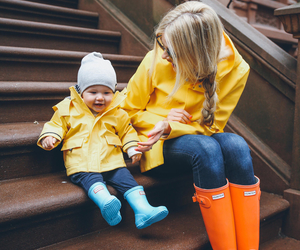 baby, fashion, and amber image