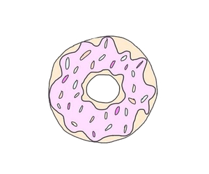 donuts, overlay, and transparent image