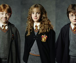 grey, harry potter, and hermione image