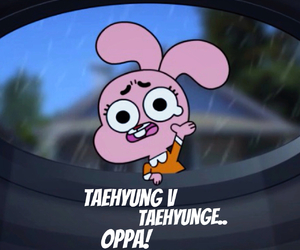 gumball, OMG, and oppa image