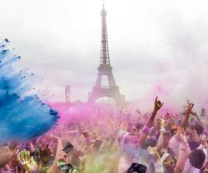 paris, color, and run image