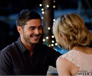 the lucky one, love, and zac efron image