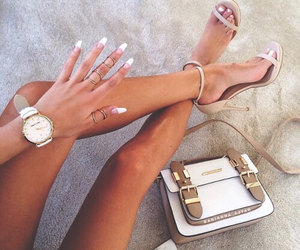 accessories, tan, and beach image