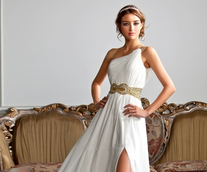 evening dress, grece, and 2015 image
