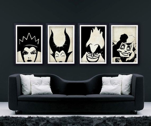disney, villains, and room image